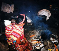 Cooking stove in Guatemala